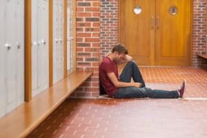 addicted college student